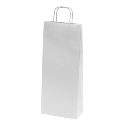 Sac bouteille papier kraft L.14xP.8xH.38 cm x50