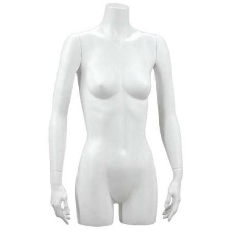 Buste torso femme bras tendus