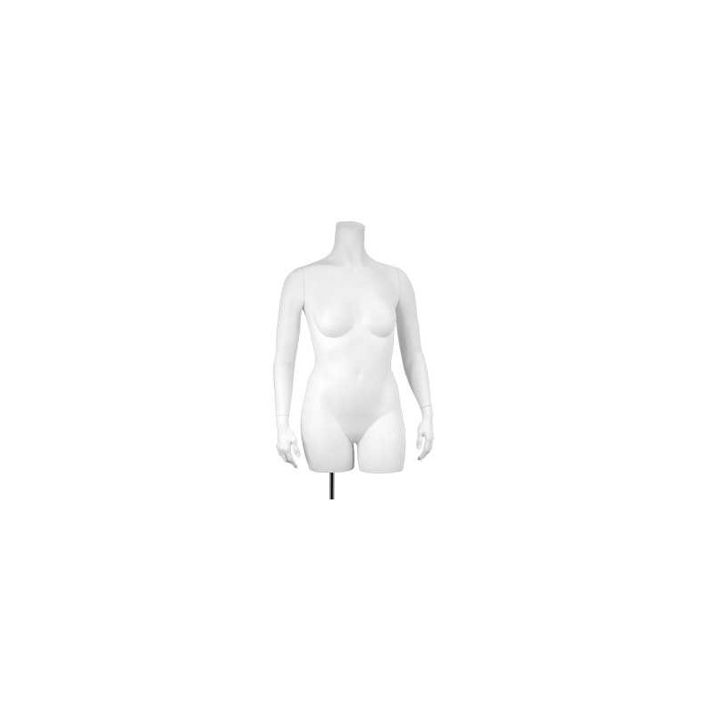 Buste XXXL court torso femme