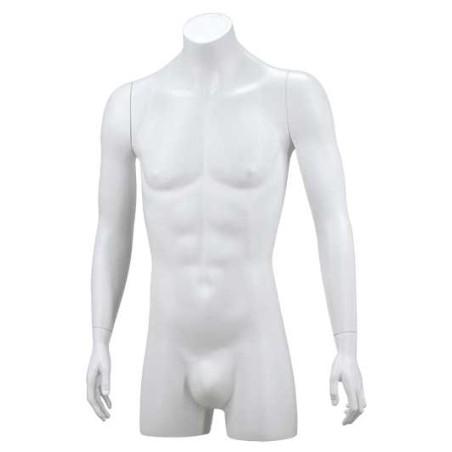 Buste torso homme bras tendus