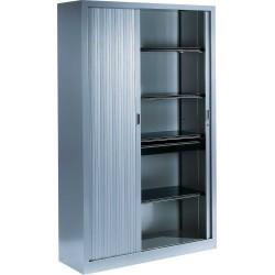 Armoire monobloc portes à rideaux H.198 cm