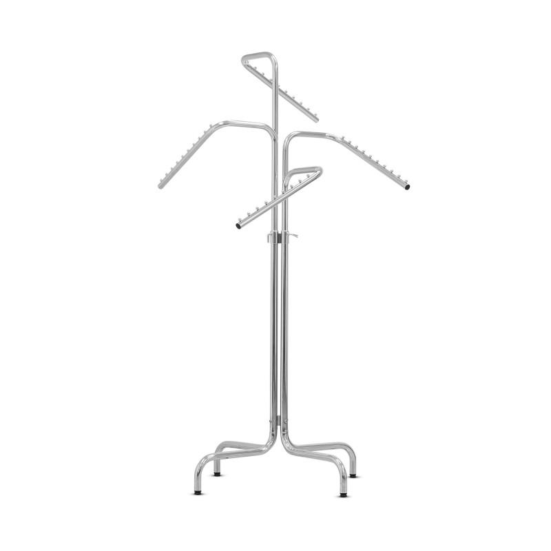 Portant 4 bras inclinés Hauteur de 110 à 180 cm