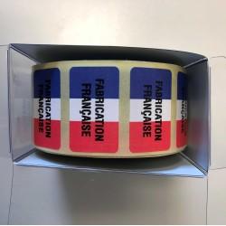 """1000 Étiquettes """"Fabrication Française"""""""