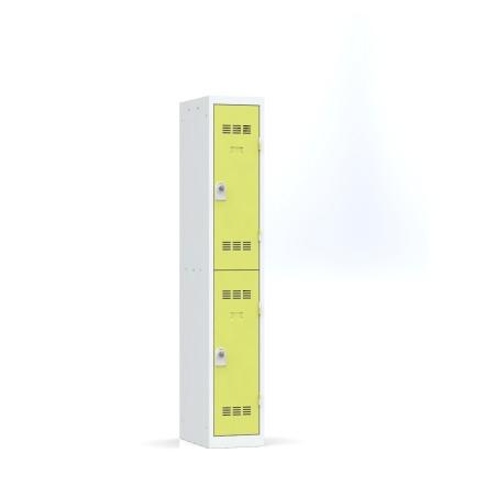 Vestiaire 1 colonne multicases monobloc soudé L.30 cm
