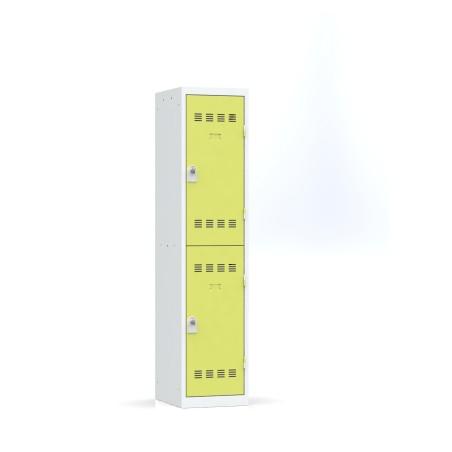 Vestiaire 1 colonne multicases L.40 cm monobloc soudé