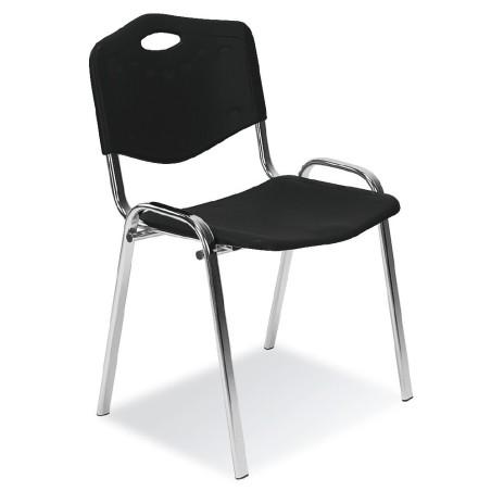 Chaise Iso Plastic Noir