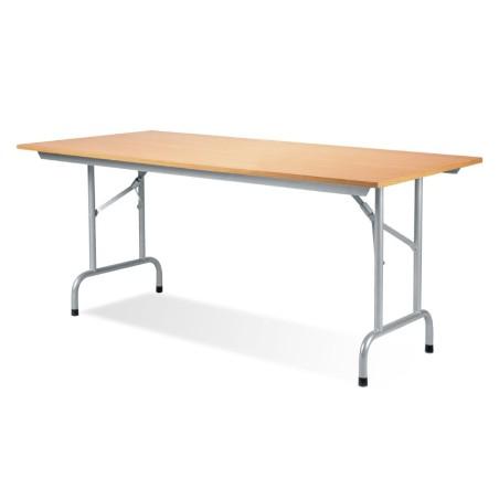 Table pliante Rico Hêtre naturel 140x80 cm
