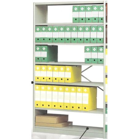 Rayonnage archivage L.125 cm élément départ