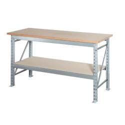 Table de travail mi-lourd L.170 x P.70 cm