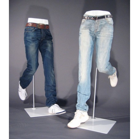 "Jambes Homme blanc ""Move"""