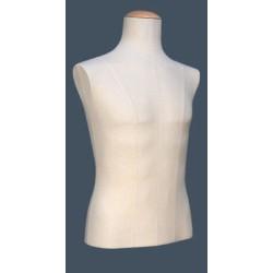Buste couture Homme medium tissu Jersey Beige