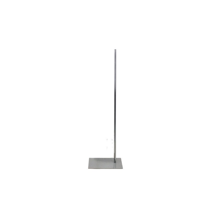 Pied base inox pour buste couture