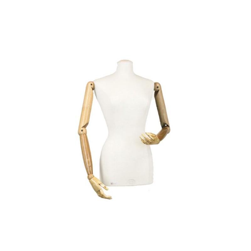 bras articul s pour buste couture femme mati re bois. Black Bedroom Furniture Sets. Home Design Ideas
