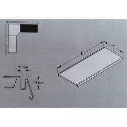 Tablette en acier L.100 P.30 cm