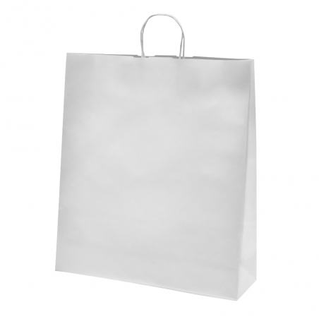 Sac papier kraft blanc 46x14x50 cm x50