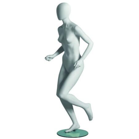 Mannequin femme Runner tête abstraite