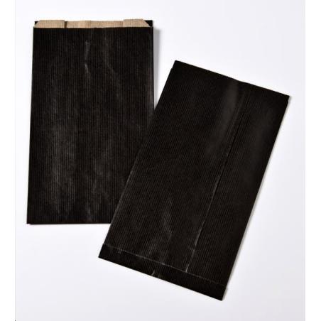 Pochette cadeau noir 16x27 cm x250