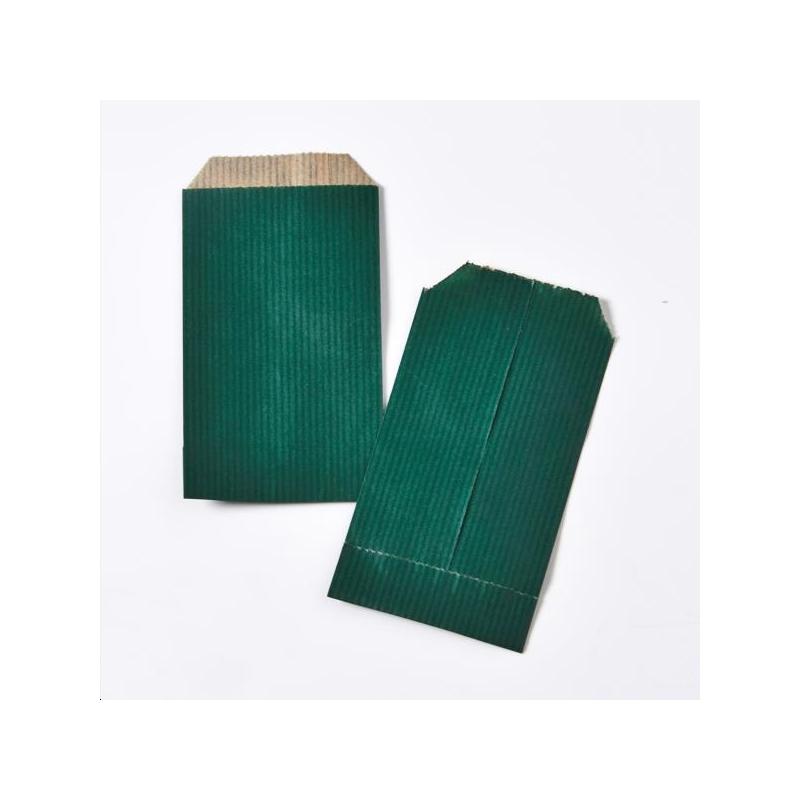 Pochette cadeau Vert 7x12 cm x250