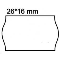 7 500 étiquettes format 26x16 blanc