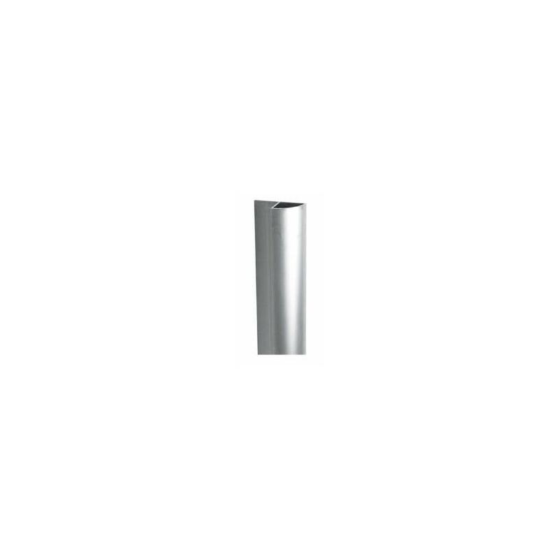 Profil alu terminal arrondi H.240 cm