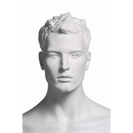 Mannequin sportif homme randonneur blanc