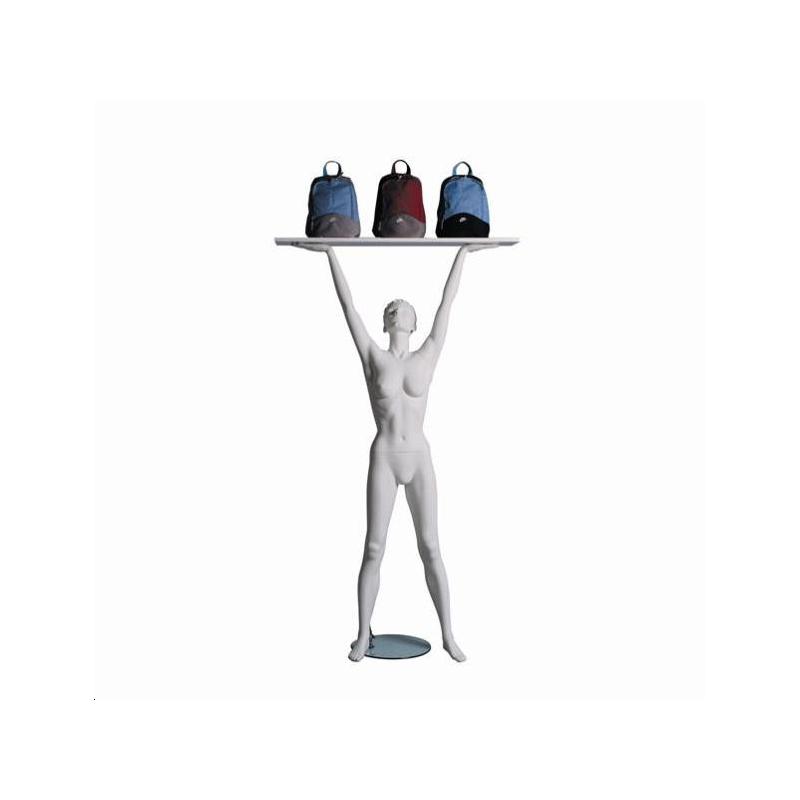 Mannequin sportf femme lifter blanc